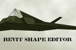 Revit F117 Stealth Fighter