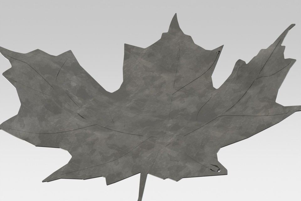 3D Maple leaf | 3D CAD Model Library | GrabCAD