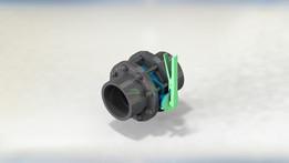 "butterfly valve 160-6""   DN-150   PN16   DIN-8063"