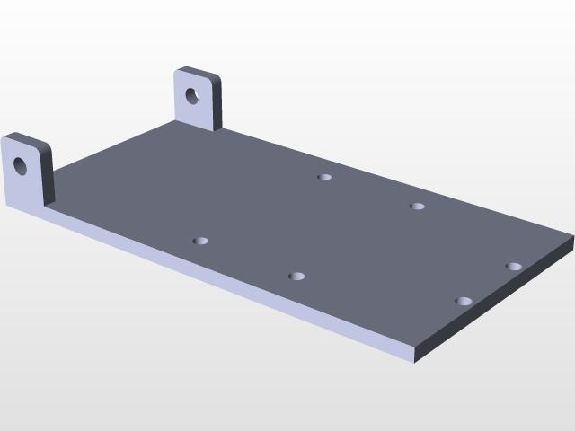 Motorized Scissor lift | 3D CAD Model Library | GrabCAD