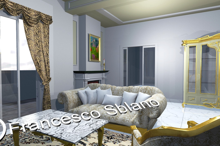 salotto stile barocco - - 3D CAD model - GrabCAD