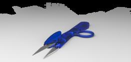 Ciseau couturier (dressmaker scissors)