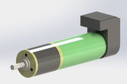 Maxon DC-motor with gearhead and encoder 2322.980-52.235-200