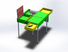 Rabaconda Portable Tool Desk