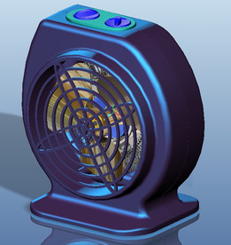 Heater  Fan Assembly