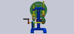"""Set of mechanisms """"Having fun with CAD""""."""