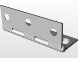 Hinge. Height = 68mm.