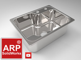 Mini sink in SolidWorks