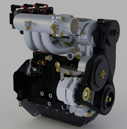 Chery SCR372 DOHC Engine (John Deere Gator 825i)