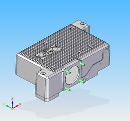Capri 2.8i V6 Intake Plenum