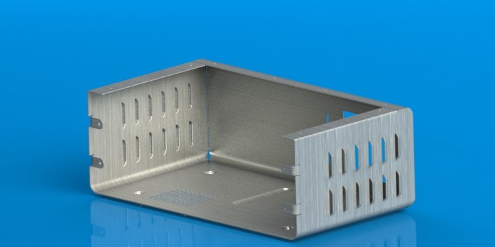 Sheetmetal Enclosure - 14x8x5