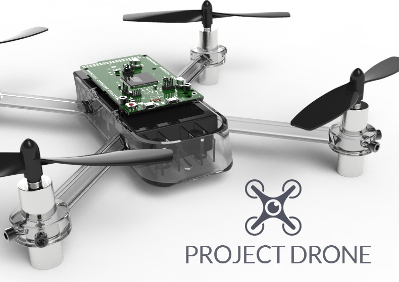 photograph about 3d Printable Drone titled Drone Physique for 3D Printing 3D CAD Style Library GrabCAD