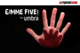 """GimmeFive!"" by PinforTeam © 2014"