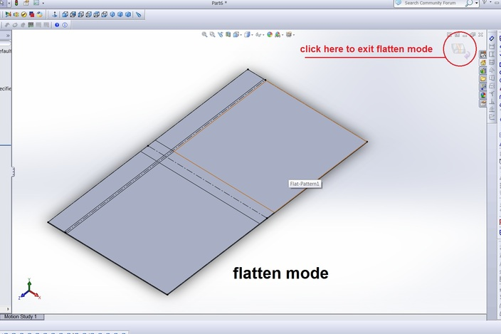 Tutorial Sheet Metal Swept Flange Solidworks 3d Cad