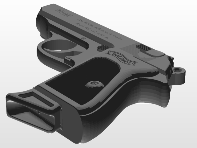 walther ppk | 3D CAD Model Library | GrabCAD