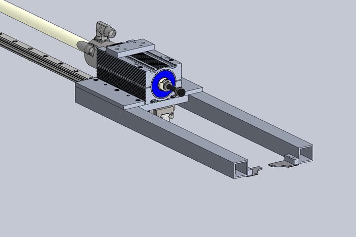Scoring Machine Linear Motor Slide 3d Cad Model Grabcad