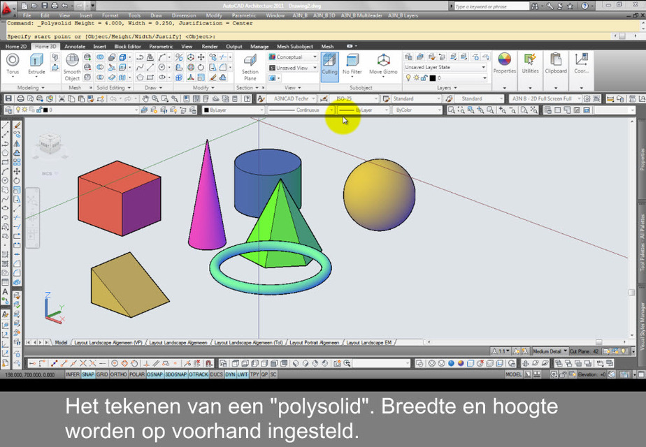Video tutorial 3d geometric solids 3d cad model library grabcad ccuart Gallery