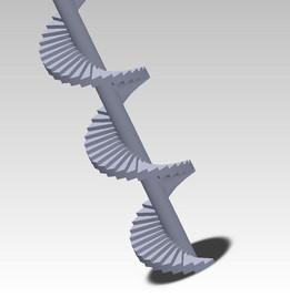 spiral stair case