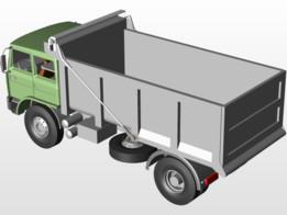 Automatic carp for trucks