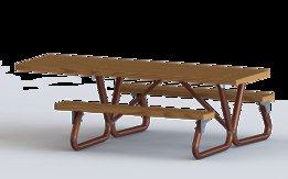 Picnic table (Great Rendering Challenge)