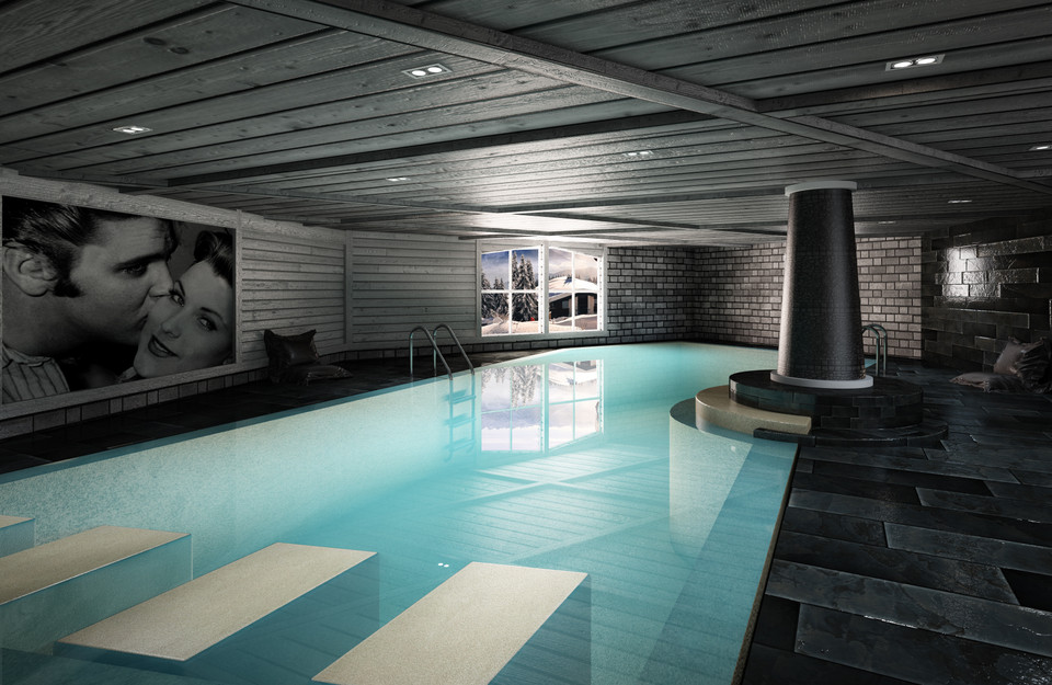 SNOW INDOOR SWIMMING POOL