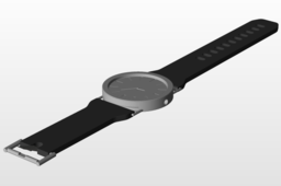 Watch With Built in Flashlight