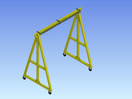 Portable Gantry (Capacity 2000 kg)