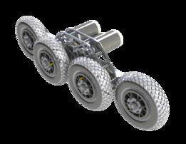 """8""""x8 Wheel FRC Drivebase"""