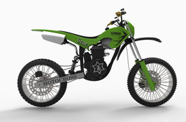 concept dirt bike gearless (full assembly )