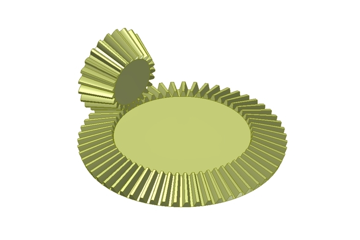 Bevel Gear Animation : Bevel gear animation other d cad model grabcad