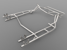 Racing kart frame part file