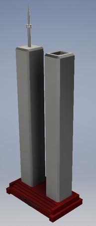 Mini Twin Towers