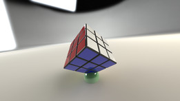 Cube Stand for a 3X3 DaYan