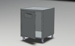 dustbin - stainless steel sheet metal