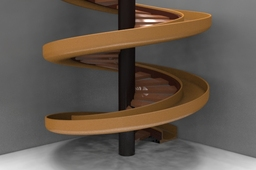 Spiral Stairs with Slider