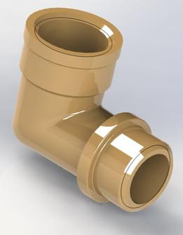 Brass Elbow M/F