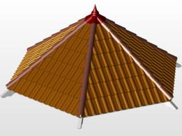 Hexagon Gezebo Roof
