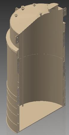 High Density PE - H2O2 Storage tank
