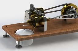 Desktop Stirling Engine