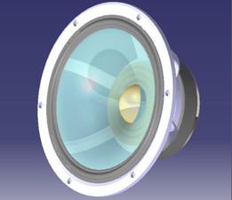 250 mm speaker