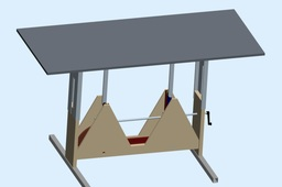 height adjusting table