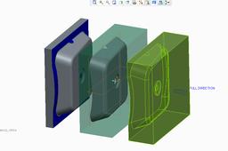 Switch Box Mold design