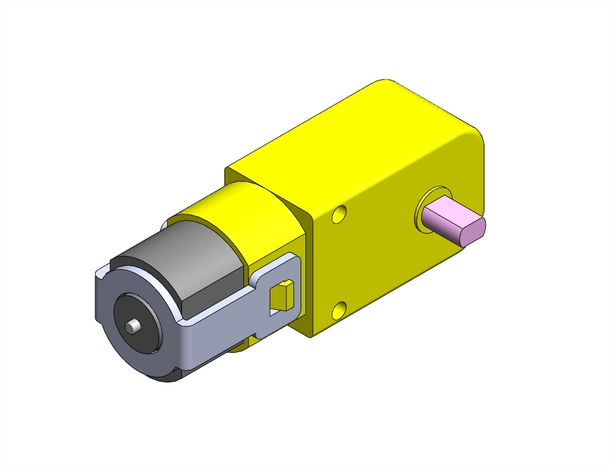 dc geared motor how to change gear