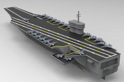 Aircraft Carrier (Nimitz Class Supercarrier)