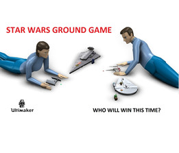 STAR WARS ground game for ultimaker challenge