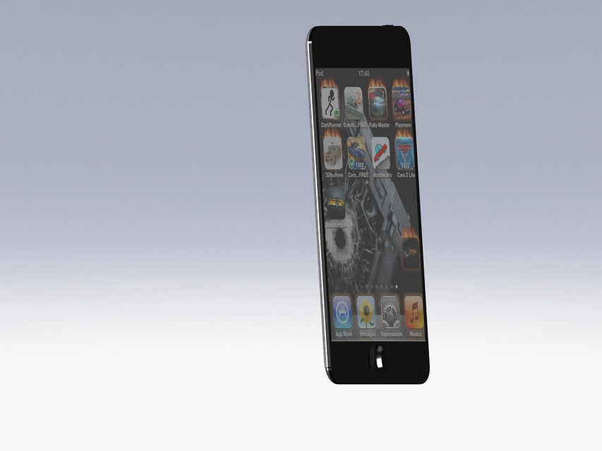 ipod touch 4g 3d cad model library grabcad rh grabcad com iPod Touch 4th Generation User Guide Apple iPod Touch User Guide