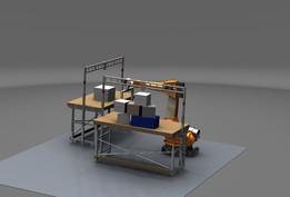NX9 Robot simulation
