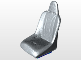 Suspension seat with seat sliders
