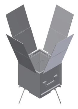 Condensable Solar Oven