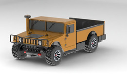 Hummer H1 Truck (Single Cab)